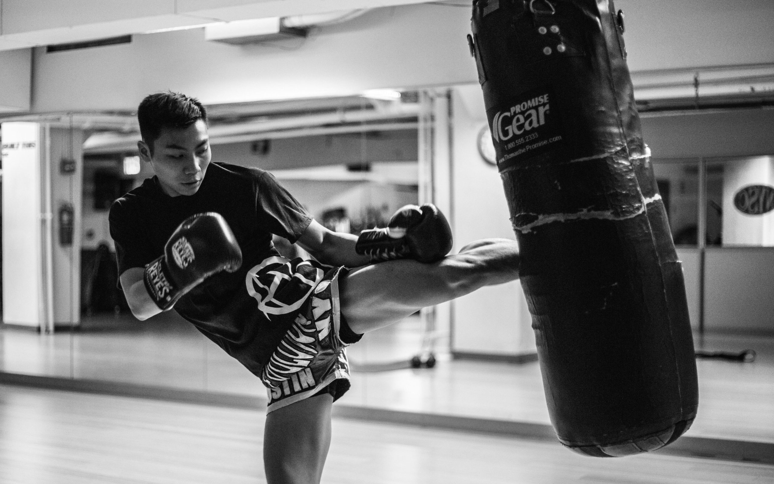 Achieving Goals Kung Fu Fighter Kickboxer Training